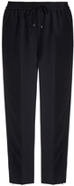 Alexander Wang Satin Back Cropped Pants