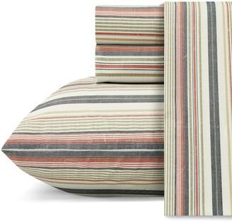 Tommy Bahama Bay Stripe 200 Thread Count Sheet Set
