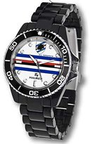 Haurex Italy Women's US339DNW Sport-R U.C. Sampdoria Rotating Bezel Black Watch