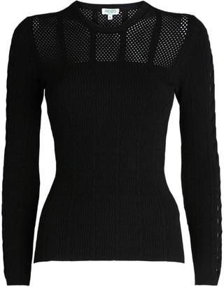 Kenzo Mesh Knitted Sweater