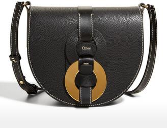 Chloé Darryl Leather Saddle Crossbody Bag