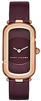 Marc Jacobs Monogram Leather-Strap Watch