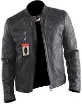 Laverapelle Men's Genuine Lambskin Leather Jacket - 1510568