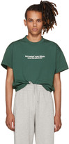 Vetements Green Tourist T-shirt