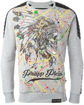 Philipp Plein printed sweatshirt - men - Cotton/Polyester/Polyurethane - XXL