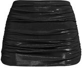 Thumbnail for your product : Norma Kamali Bill Ruched Bikini Skirt Bottom