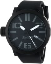 Haurex Italy Men's 1N377UNN Turbina IP Case Dial Silicone Date Watch