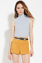 Forever 21 Contemporary Mock Neck Top