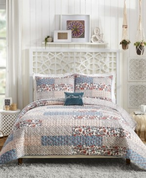 Jessica Simpson Tallulah Floral Twin Quilt