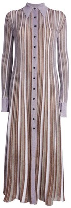 M Missoni Lurex Button-Up Dress