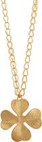 Aurelie Bidermann Tamar gold-plated necklace