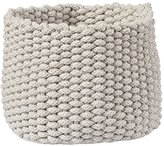 Baby Essentials Small Kneatly Knit Khaki Rope Bin