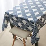 Tblecloths Grden tble retro lttice fresh cloth cotton linen rt te tble tble cloth
