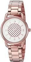 Kate Spade Women's KSW1167 Boathouse Analog Display Quartz Rose Gold Watch