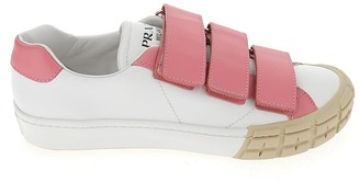 Prada Strapped Low-Top Sneakers
