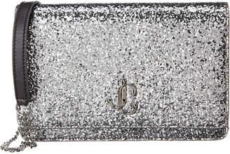 Jimmy Choo Palace Mini Glitter Shoulder Bag