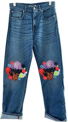 Christopher Kane Blue Cotton Jeans for Women