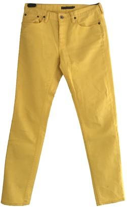 Ralph Lauren Yellow Denim - Jeans Trousers for Women