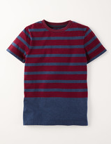 Boden Engineered Stripe T-shirt