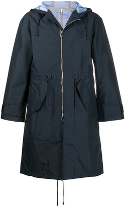 Loewe Hooded Zip-Up Coat