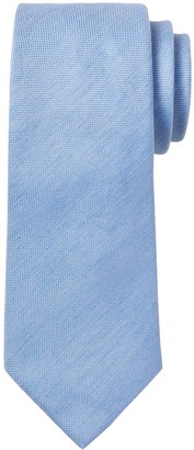 Banana Republic Silk-Linen Oxford Nanotex Tie