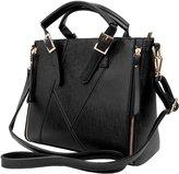VanGoddy VG Women's Paneled Pallia Business Satchel Messenger Hand Bag