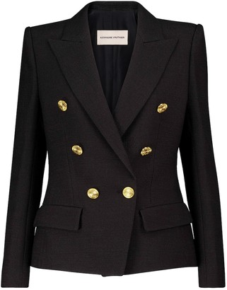 Alexandre Vauthier Double-breasted tweed blazer