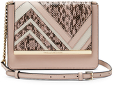 Diane von Furstenberg Soirée Large Flap Patchwork Crossbody Bag