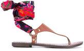 Sam Edelman Giliana sandals - women - Calf Leather/Polyester/Artificial Leather/rubber - 6