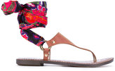 Sam Edelman Giliana sandals - women - Calf Leather/Polyester/Artificial Leather/rubber - 7.5