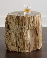 Bernhardt Bangor Petrified Wood Side Table