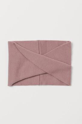 H&M Wool Tube Scarf - Pink