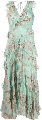 Zimmermann Ruffle Front Dress