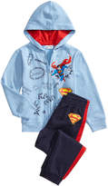 Superman 2-Pc. Hoodie and Pants Set, Little Boys (4-7)