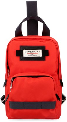 Givenchy Downtown Nylon One-shoulder Backpack