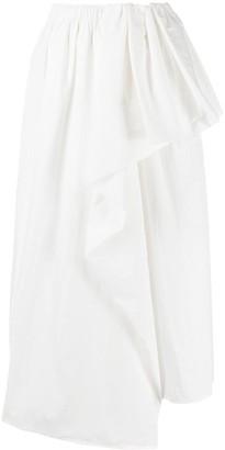 Christian Wijnants Draped Ruffle Skirt