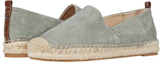 Sam Edelman Khloe (Mineral Green Suede Leather) Women's Slip on Shoes