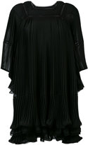 Chloé pleated smock dress - women - Silk/Polyester - 36
