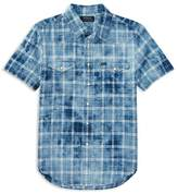 Polo Ralph Lauren Boys' Tie-Dyed Western Shirt - Big Kid