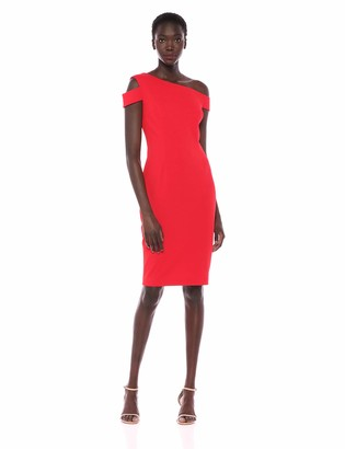 Trina Turk Trina Women's Enchantment One Shoulder Cutout Dress