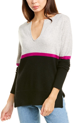 Raffi High-Low Cashmere Sweater