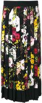 Dolce & Gabbana floral print midi skirt