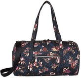 Vera Bradley Iconic Performance Twill Medium Travel Duffel (Garden Dream) Duffel Bags