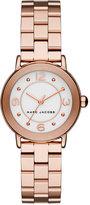 Marc Jacobs Women's Riley Rose Gold-Tone Stainless Steel Bracelet Watch 28mm MJ3474