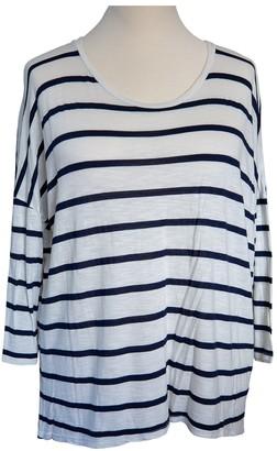 Velvet Navy Cotton Top for Women