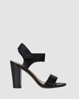 Ravella - Women's Black Heeled Sandals - Chad - Size One Size, 10 at The Iconic