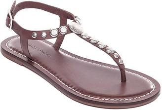Bernardo T-Strap Sandals - Mojo