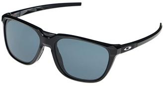 Oakley Anorak (Polarized Black/Prizm Grey) Sport Sunglasses