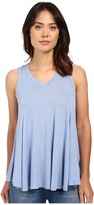 B Collection by Bobeau Addilyn Voluminous V-Neck Knit Tank Top