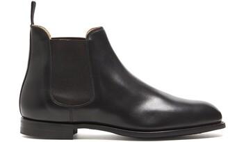 Crockett Jones Crockett & Jones Chelsea Black Wax Calf Boot